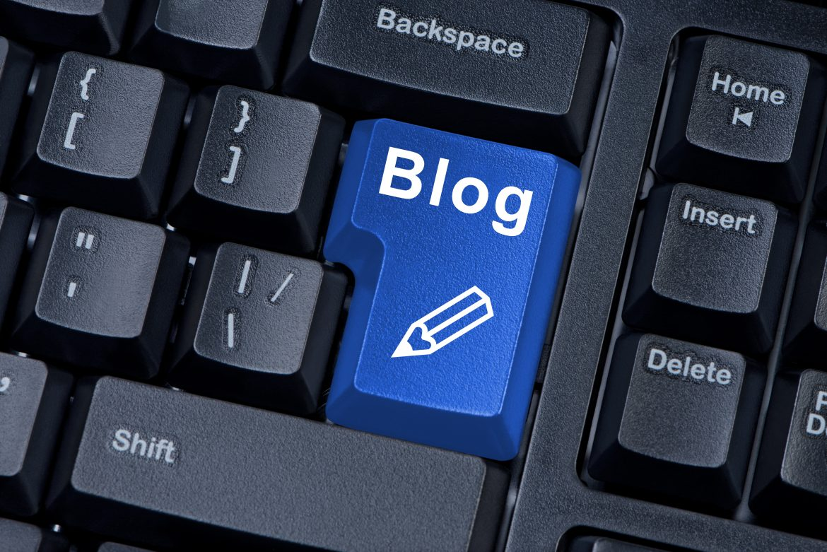 blog publish button